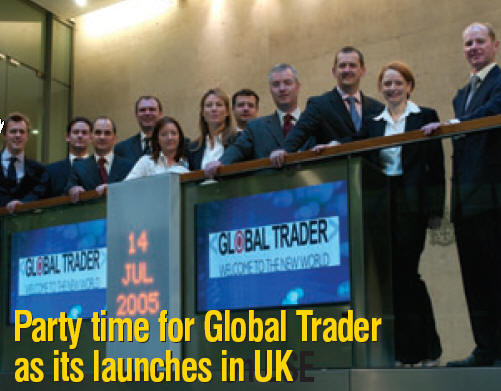Global Traders launch in the UK