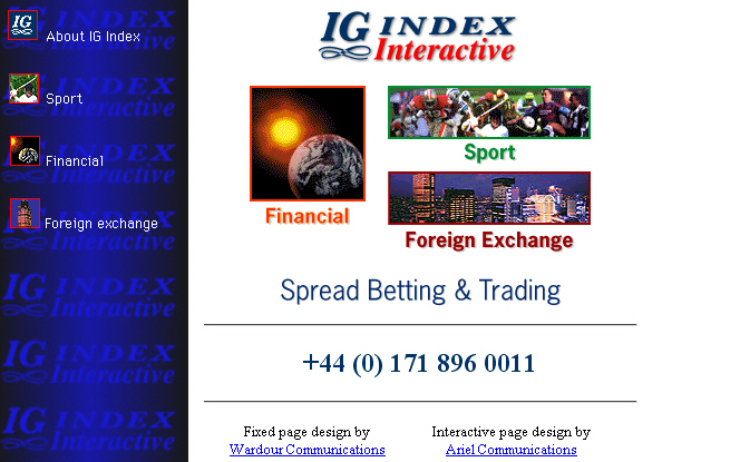 Ig spread betting cryptocurrency